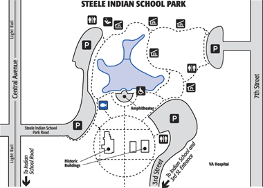 Steele Indian School Park