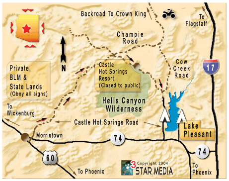 Arizona OHV Trails Amp OHV Maps OHV Places To Ride And Areas