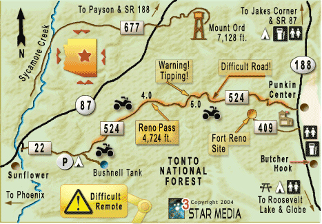 Arizona OHV Trails  OHV Maps OHV Places to Ride and Areas in Arizona